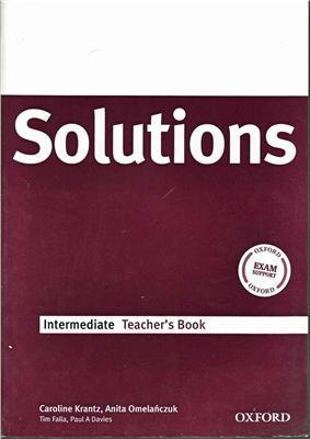 Solutions Upper-Intermediate Teacher's Book PDF.
