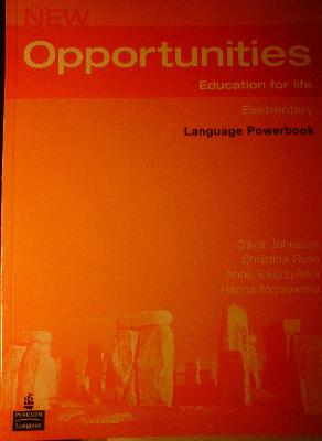New opportunities education for life elementary language powerbook